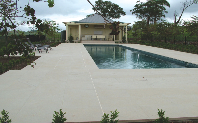 pool surrounds natural stone