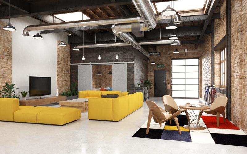 industrial look interior