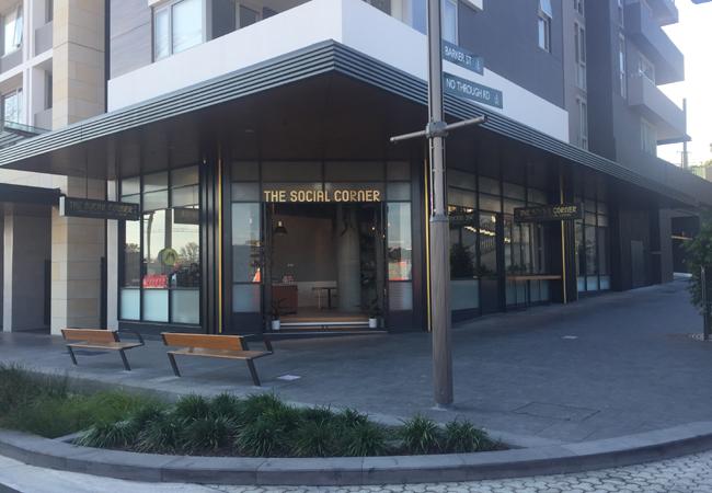 social corner green square