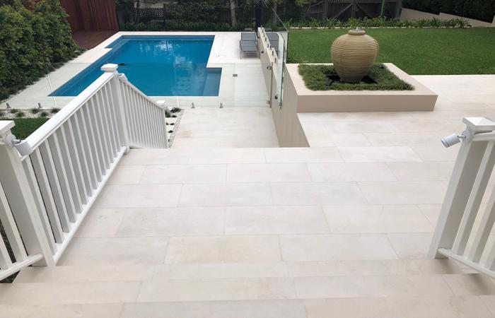 tavira limestone alfresco
