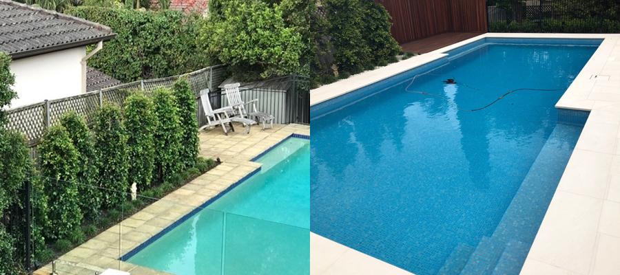 pool transformation