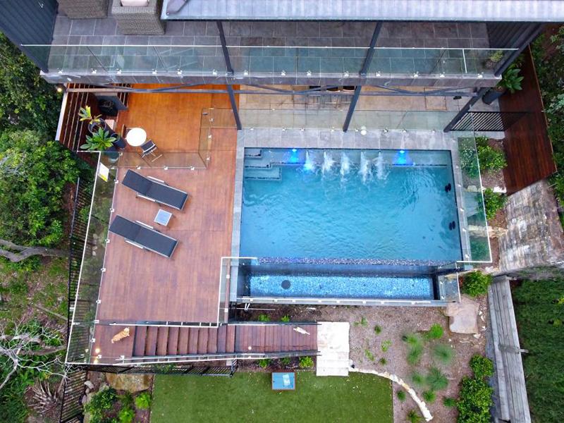 pool alfresco area