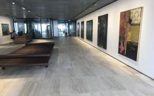 vein cut travertine floors