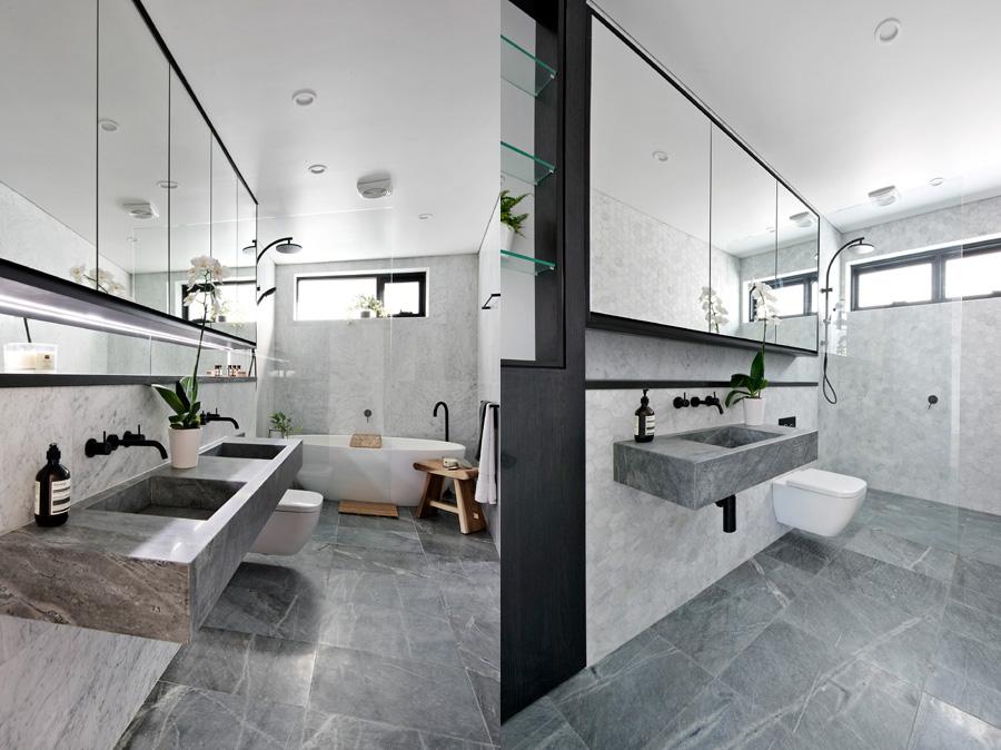 atlantic grey granite bathroom