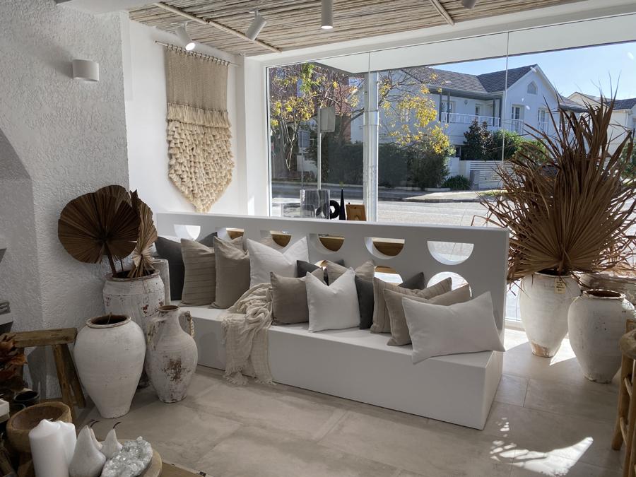 concrete look porcelain shop