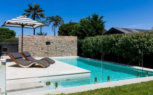 handling stone around pools