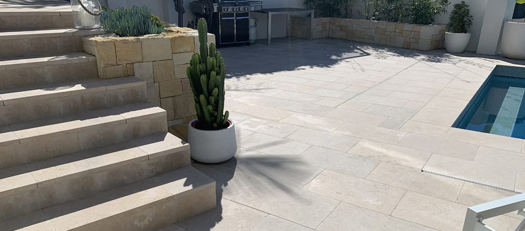 lavarosa limestone alfresco