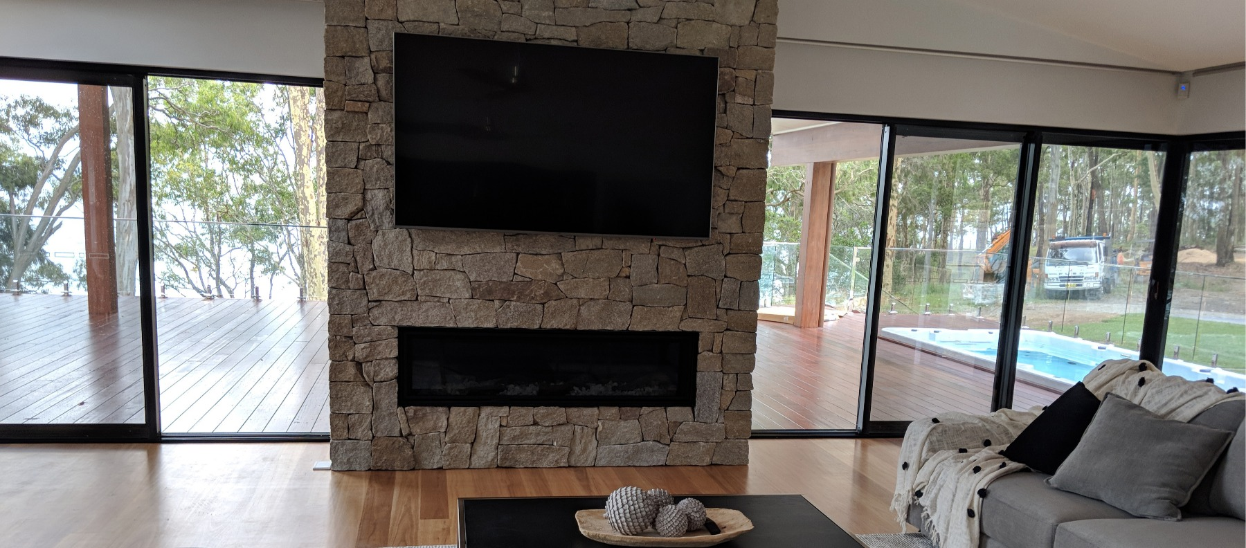 fireplace cotswold wall clading