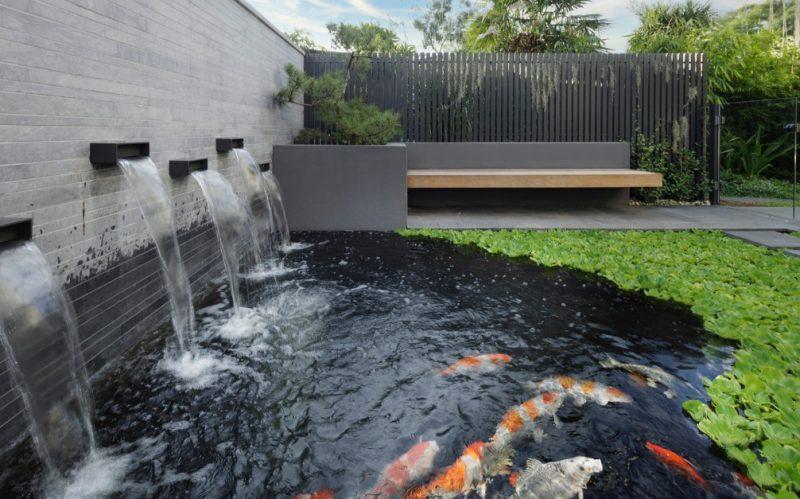 granite garden koi pond