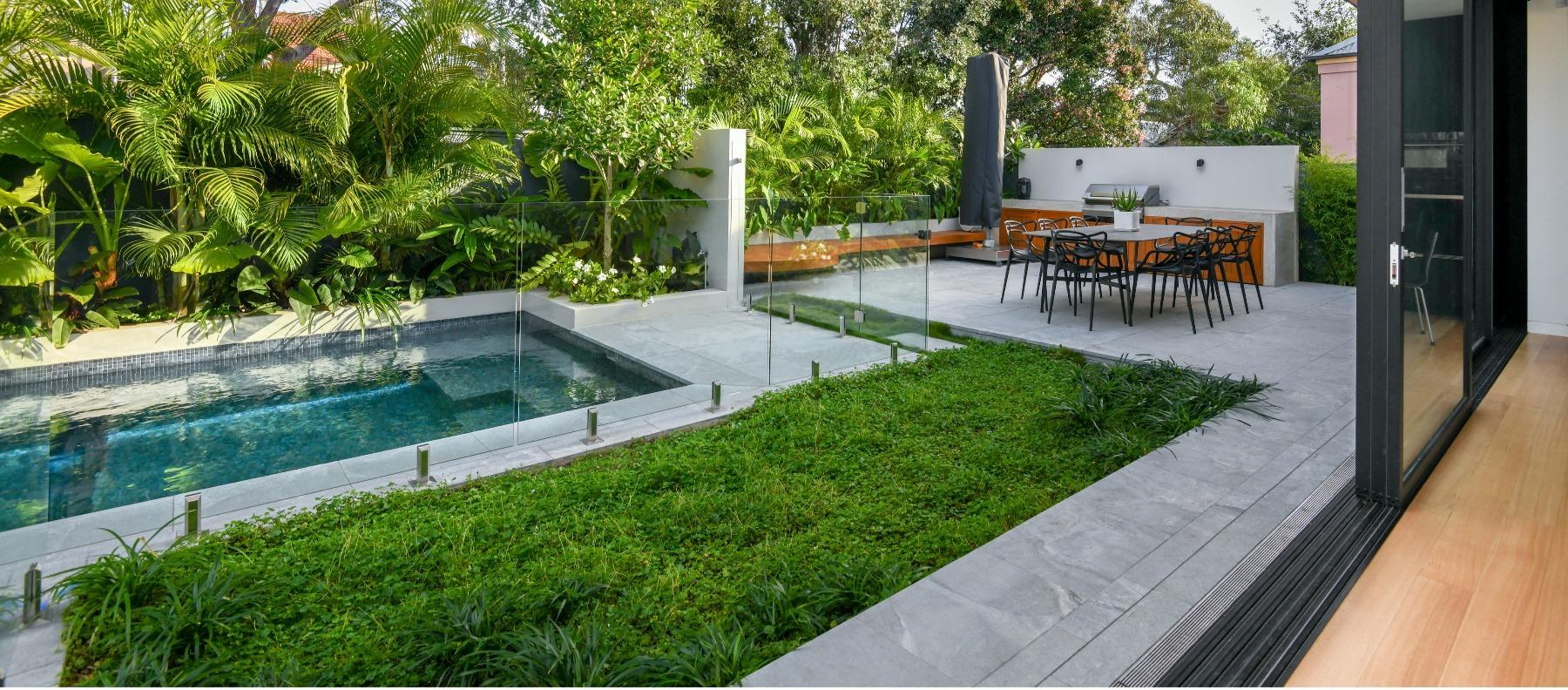 atlantic granite pool area