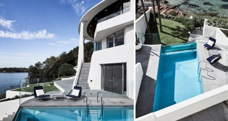 cove house pool design