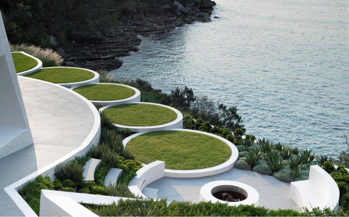 granite landscape design