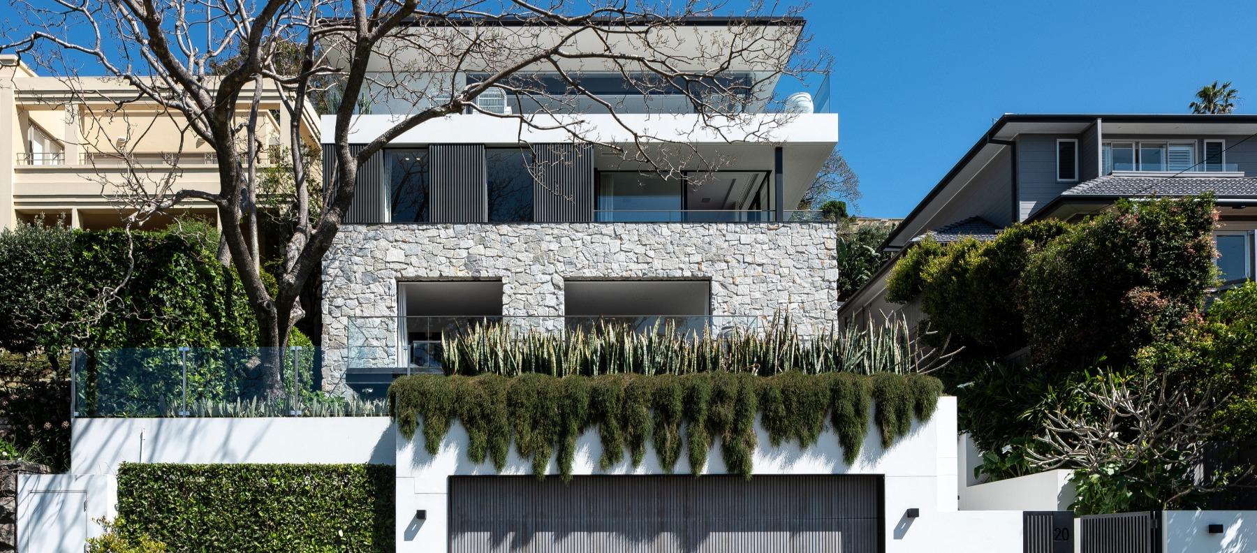exterior house jacaranda