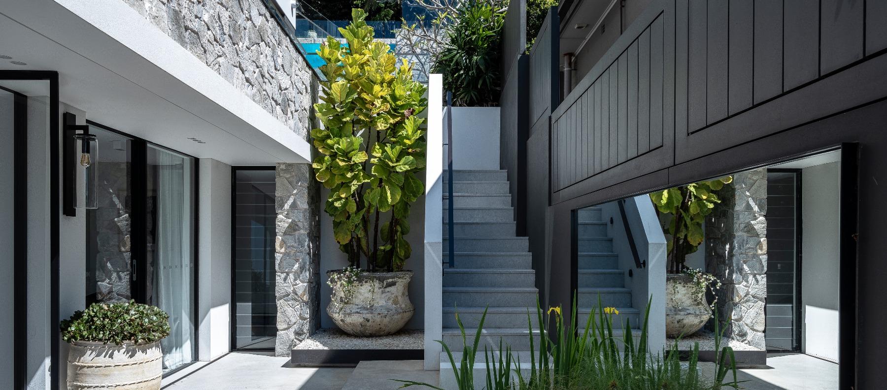 exterior stairs limestone