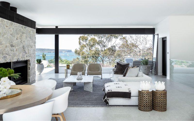 limestone living room