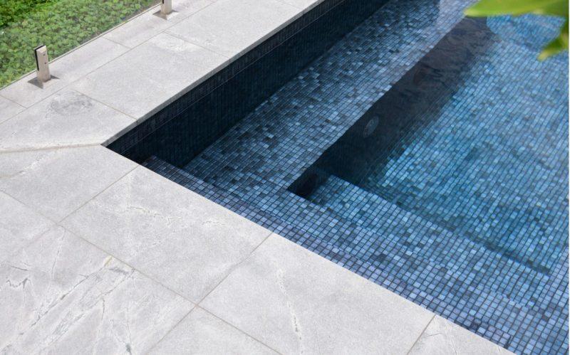 pool corner atlantic grey granite