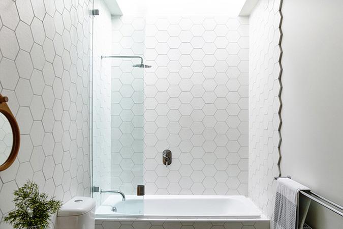 hexagon porcelain tiles