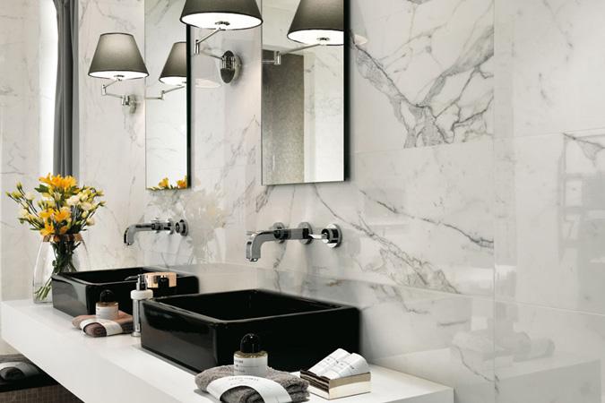 marble look porcelain