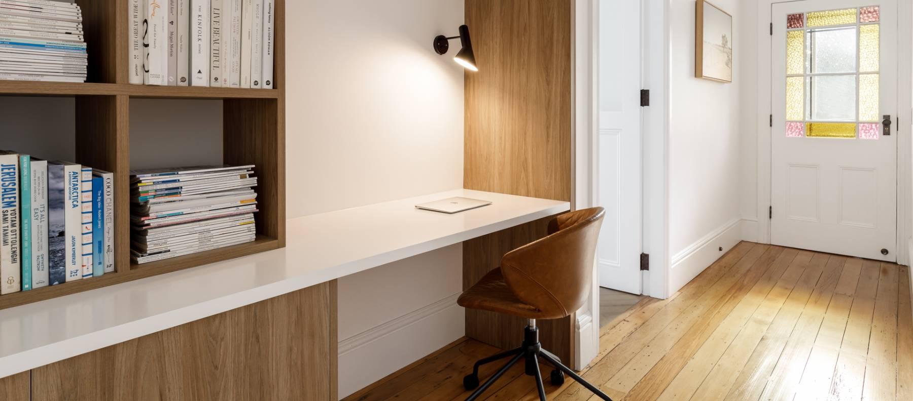 custom study nook