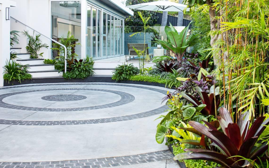 cobblestones lanndscape design
