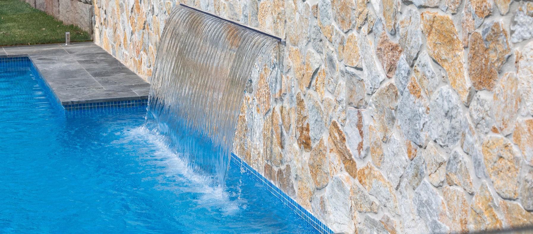 wall cladding pool