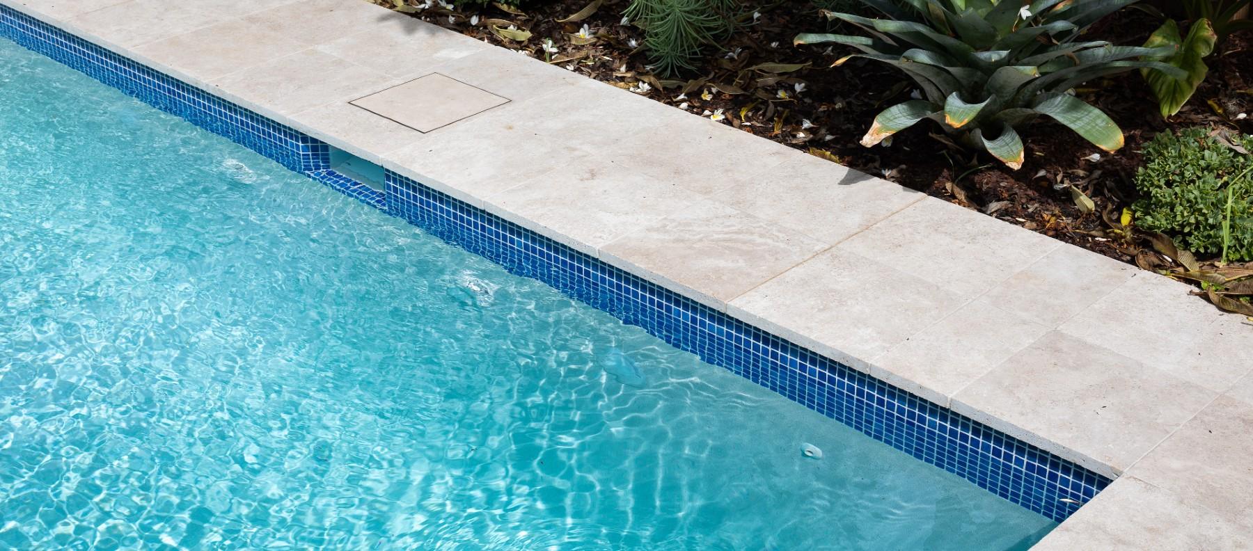 marrickville travertine pool coping
