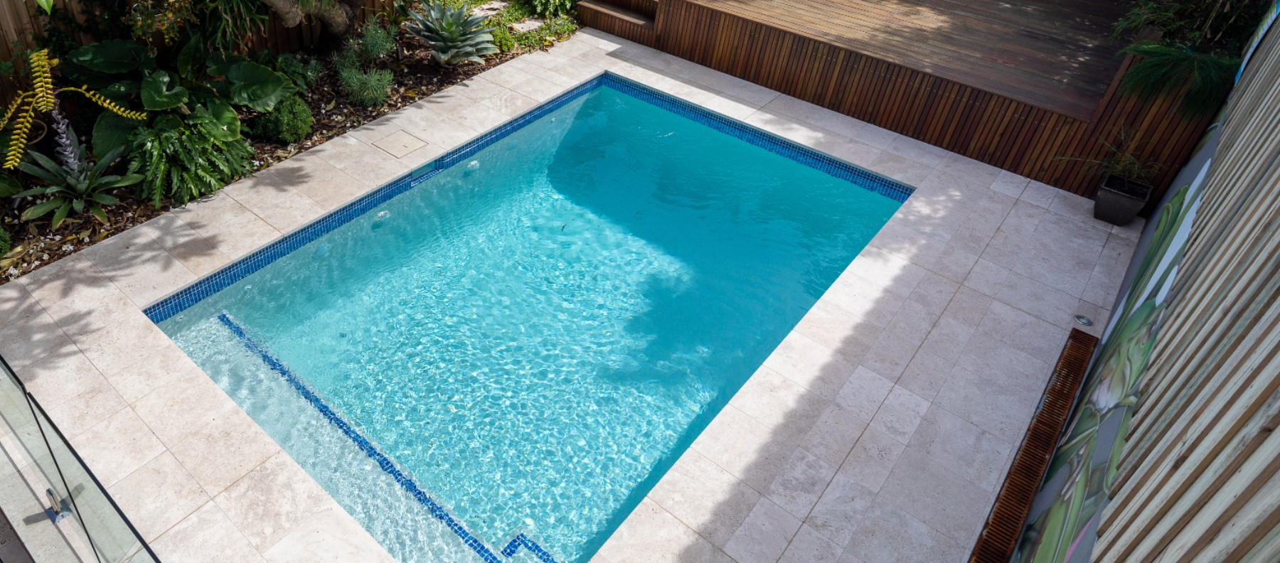 marrickville travertine pool