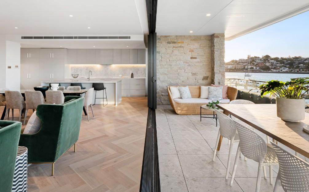 brisbane river apartment