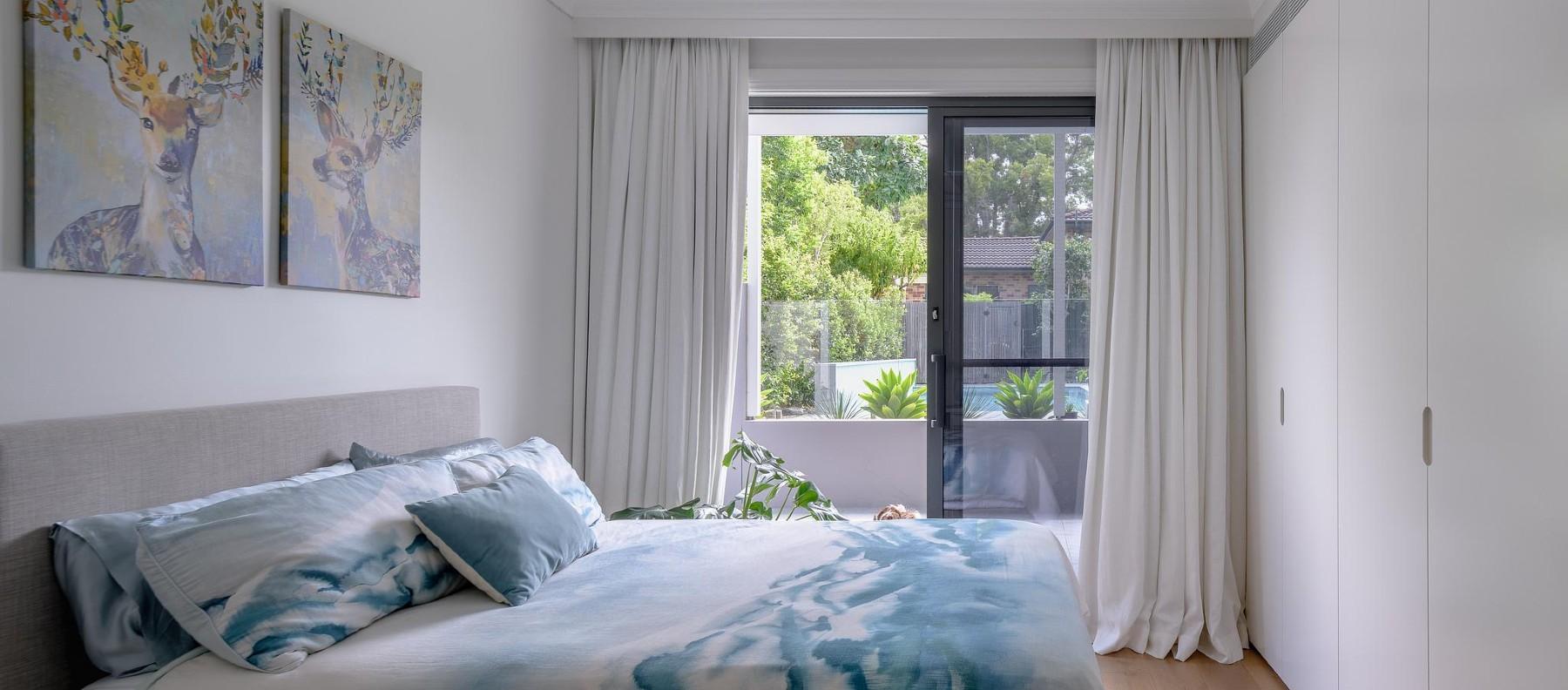 bedroom silhouette granite