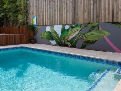 marrickville pool mural